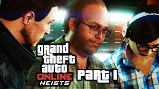 GTA 5 Heists - FLEECA JOB  - Setup & Heist Gameplay Walkthrough Part 1