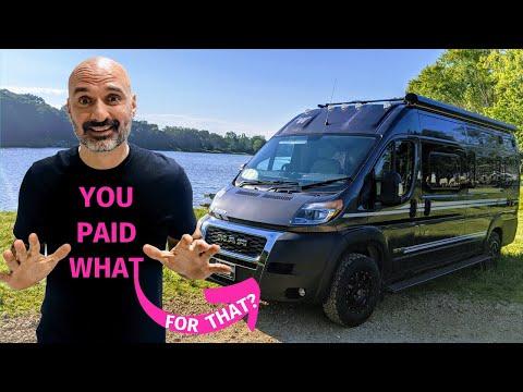 Why I Chose A Class B VAN 🚙 Full Time RV LIVING in a Winnebago TRAVATO 59KL
