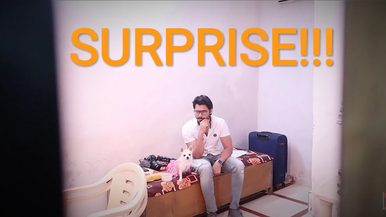 They SURPRISED me on the SET  | Ss Vlogs :-)