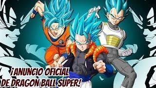 ¡Anuncio Oficial de Dragon Ball Super! - Día de Goku