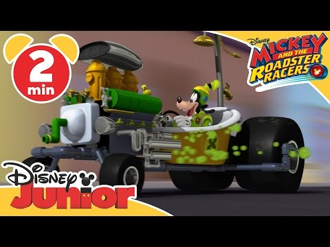 Mickey and the Roadster Racers | Goofy Gas | Disney Junior UK