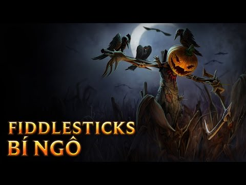 Fiddlesticks Bí Ngô - Pumpkinhead Fiddlesticks - Skins lol