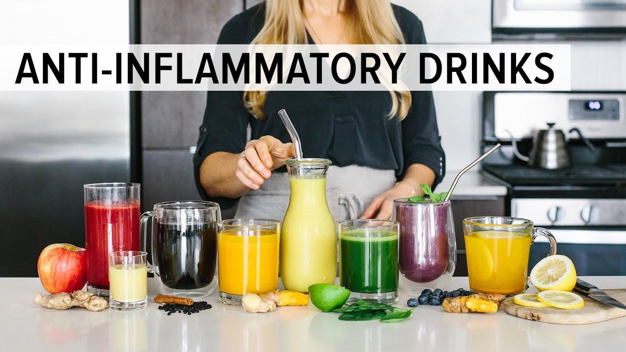 8 ANTI-INFLAMMATORY DRINKS | to enjoy for health & wellness