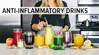8 ANTI-INFLAMMATORY DRINKS | to enjoy for health & wellness