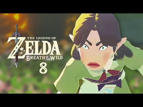 The Legend of Zelda: Breath of the Wild - Part 8 - Magda's Flower Rage & Draco the Horse