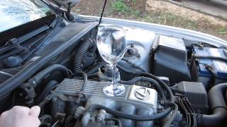 Lexus Ls400 Wine Glass Party Trick