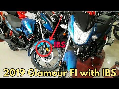 2019 Hero Glamour FI with IBS