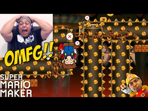 I CAN'T STAND THESE SH#TS!! [SUPER MARIO MAKER] [#31]