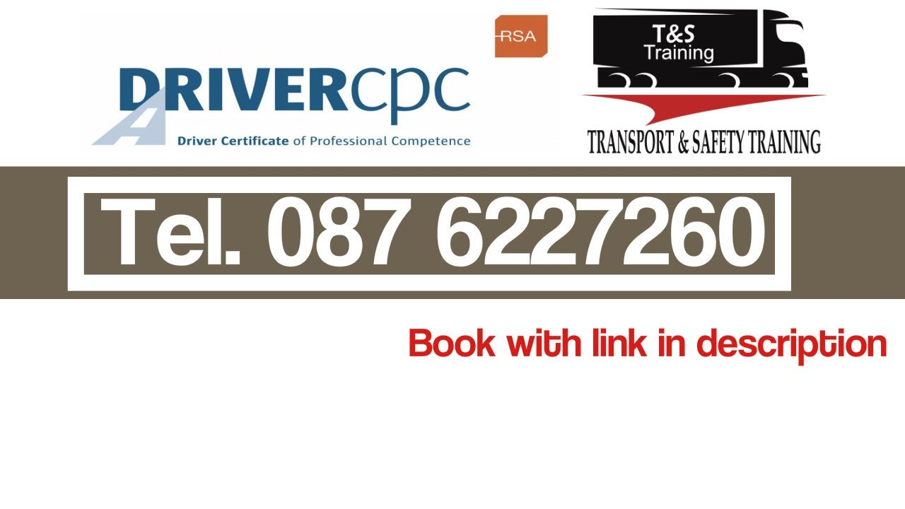 cpc training driver courses safety