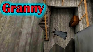 Granny 1.3 Арбалетная атака Баг дротика и бабка демон