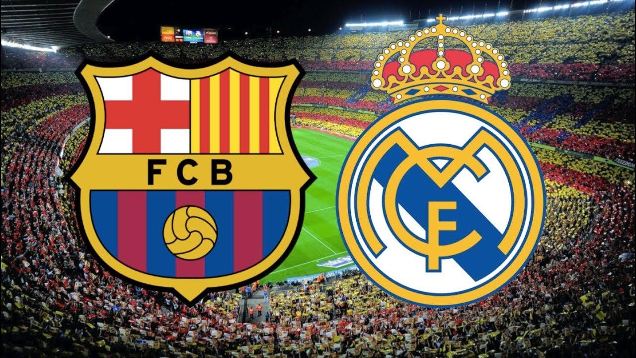 Barcelona vs Real Madrid, El Clasico, La Liga 2019/20 - MATCH ...