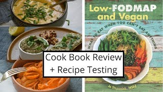 You can get the book here: http://amzn.to/2yq9bwp this was first lowfodmap i bought and it helped me so much. gives lots of vegan specific in...
