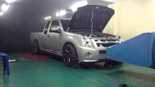 D-max 2500 Turbo STD On Dyno Tuning F-CON iD BY.T-Speed 01