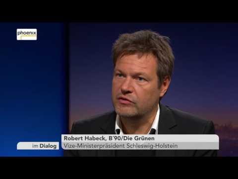 Im Dialog: Michael Hirz mit Robert Habeck vom 07.10.2016