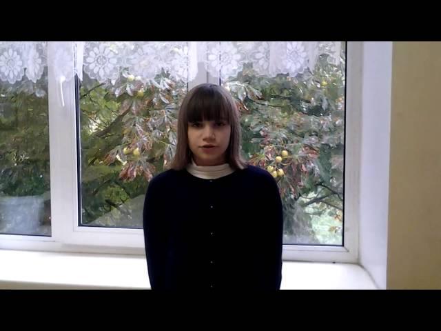 Софья Трощий читает произведение «Вечер» (Бунин Иван Алексеевич)
