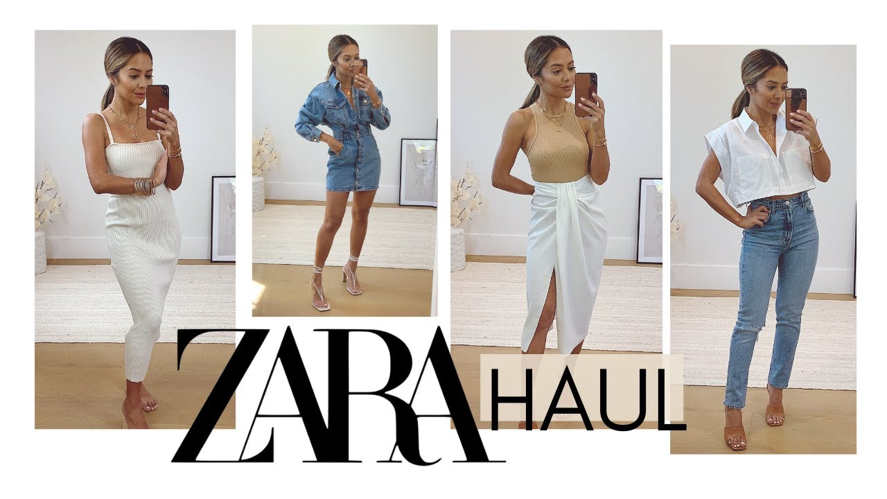 Zara Try-On Haul | New In For Spring April 2020