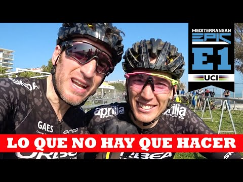 Etapa 1 Mediterranean Epic (UCI S1)   Ibon Zugasti Y Aleix Espargaró