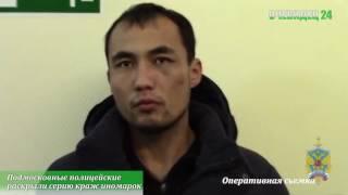 Подмосковные полицейские раскрыли серию краж иномарок на сумму более 2,5 миллионов рублей в г  Руза