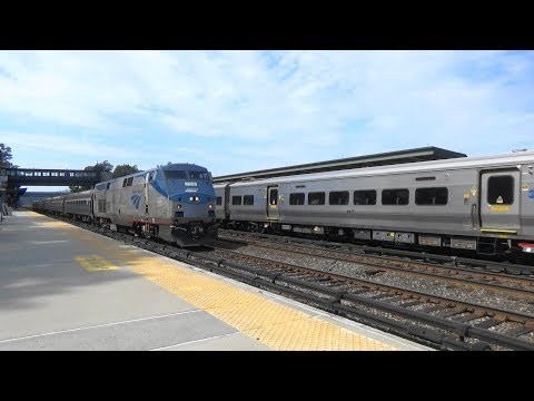(Awesome Hornshows) Metro North & Amtrak Independence Day Railfanning at Riverdale