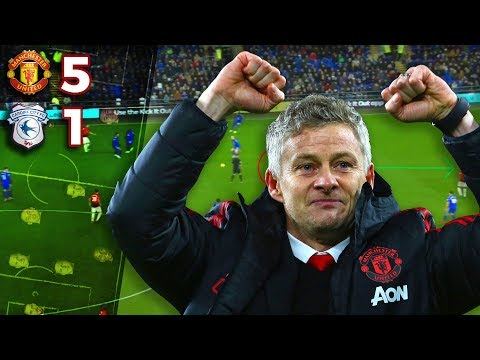 How Ole Gunnar Solskjaer DESTROYED Cardiff City! - Tactical Analysis - Manchester United 5-1 Cardiff