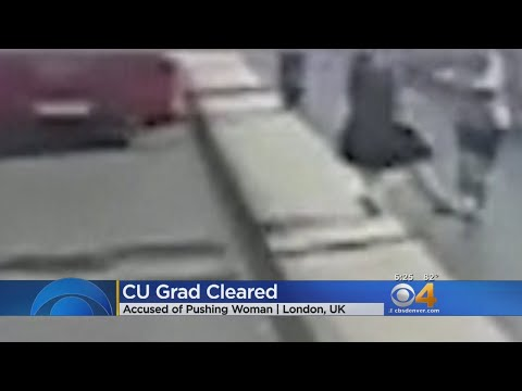 CU Grad Cleared In Pushing Woman While Jogging
