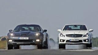 Mercedes SL 65 AMG vs. Corvette ZR1