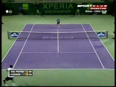 2012 Sony Ericsson Open - Juan Martin Del Potro vs David Ferrer (HQ)