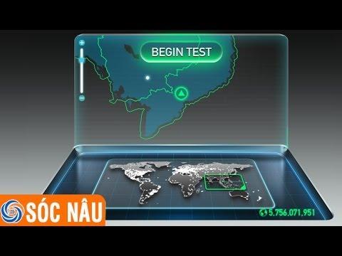 Cách kiểm tra tốc độ mạng, kiểm tra tốc độ đường truyền Internet