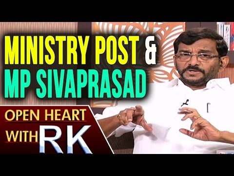 Minister Somireddy Chandramohan Reddy About Ministry Post & MP Sivaprasad | Open heart with RK | ABN