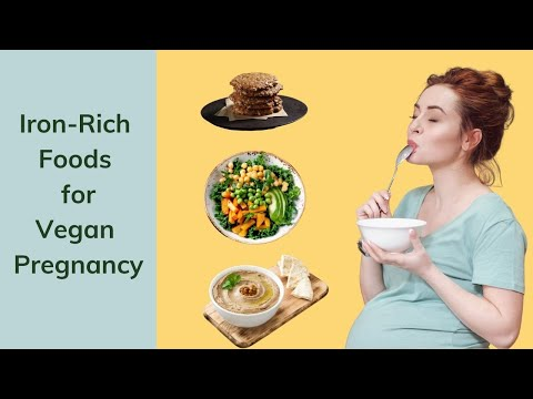 Food Sources of Iron (Vegan) Iron Foods for Pregnancy Recipes