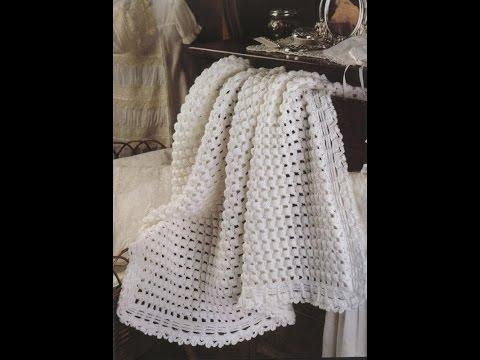 Crochet Patterns For Free Lacy Baby Blanket Crochet Pattern 1241