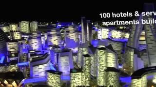 Projeto de Shopping-Cidade nos Emirados Árabes