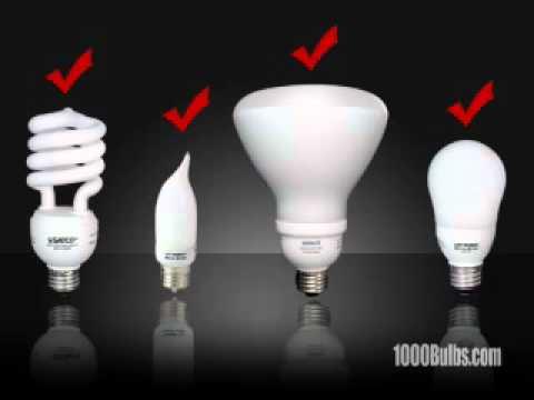 dimmable compact fluorescent cfl light bulbs - Compact Fluorescent Light Bulbs