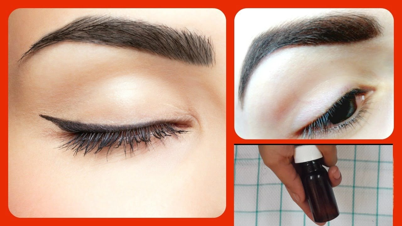 How to Grow Your Eyebrows Thicker | Home Remedies Long Thick ...