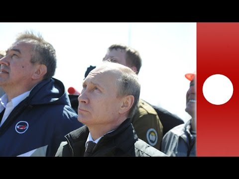 Putin watches 1st