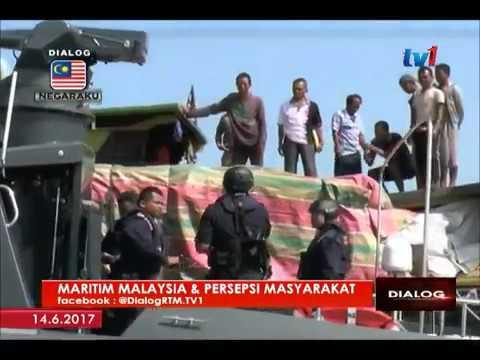 DIALOG  MARITIM MALAYSIA & PERSEPSI MASYARAKAT 14 JUN 2017