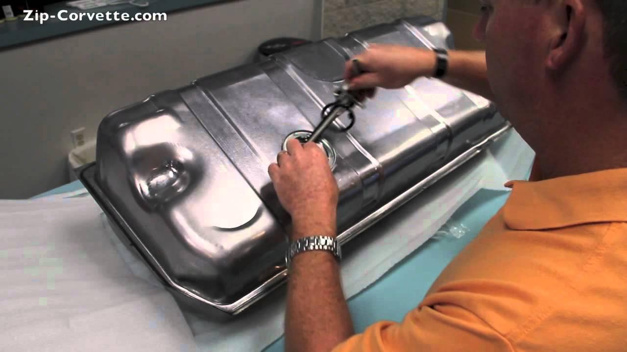 hight resolution of installing a corvette fuel sending unit