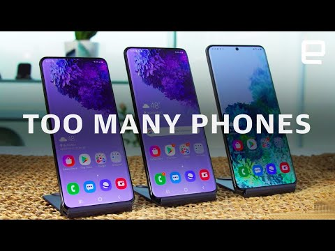 Samsung makes too damn many phones