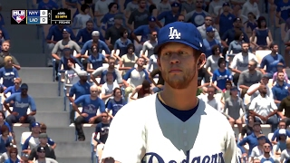 MLB The Show 17 Full Game - L.A. Dodgers vs. New York Yankees at Dodger Stadium (PS4 Pro)