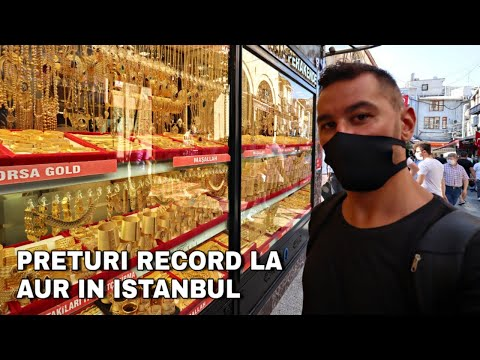 Ce poti cumpara cu 50 lei in Istanbul Grand Bazar?