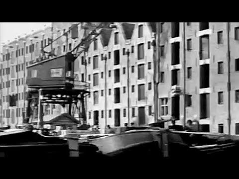1918: History of the Eastern Harbour in the Port of Amsterdam - oude filmbeelden
