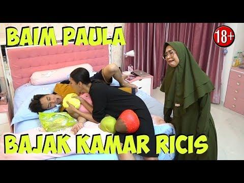 BAIM PAULA MESRA-MESRAAN DI KAMAR RICIS!!! Kak Paula Hamil?