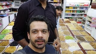 When Burj Khalifa walks inside a Shop.