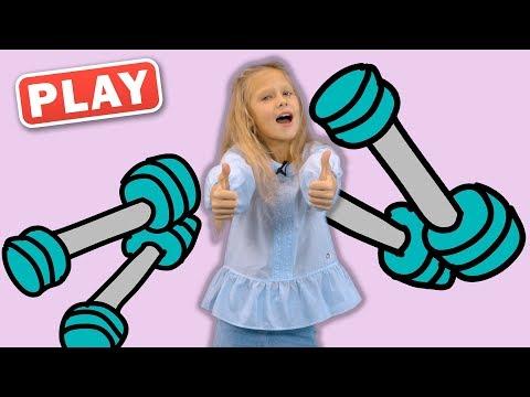 КукуPlay - Зарядка - Песенки Кукутиков - Поем с Викой - детские песни