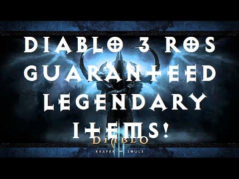 Diablo  Ros Crafting Tips