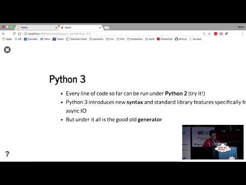 Async for the Python 2 Programmer