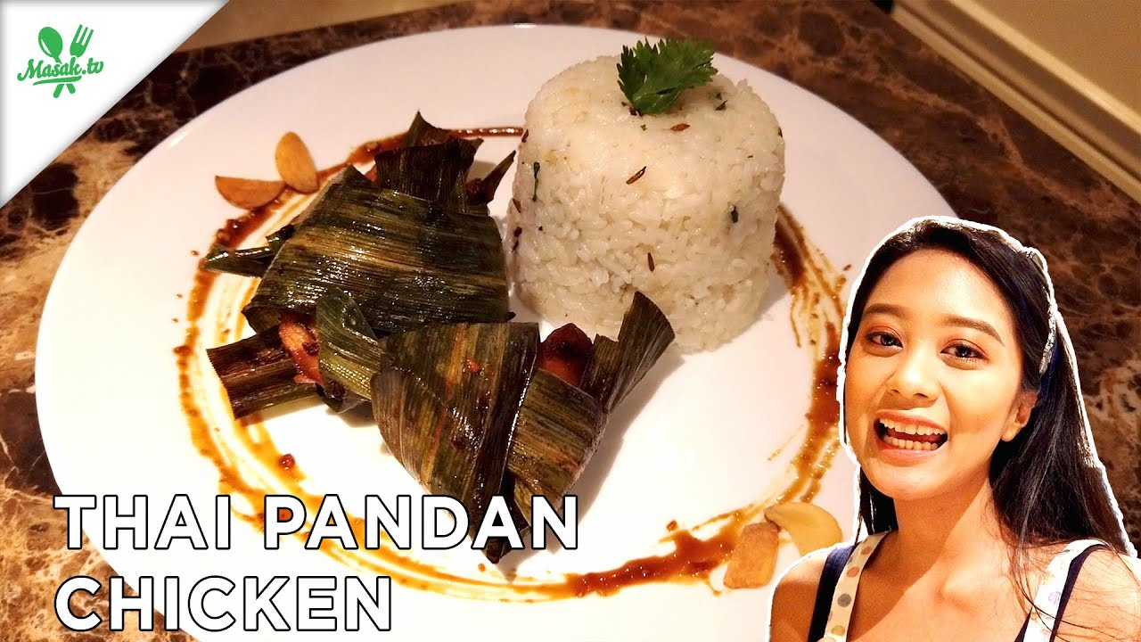 Resep Thai Pandan Chicken