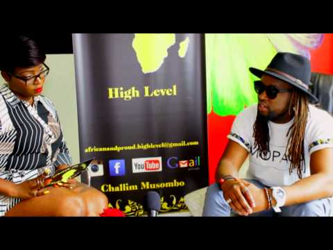 African & Proud High Level-The show : Challim Musombo presente Gandhi le rappeur rasta