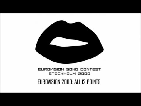 Eurovision 2000 All 12 Points