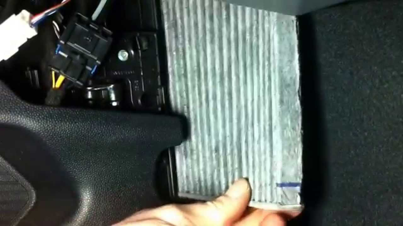 Ford Ka How To Cabin Air Filter Replacement Pollenfilter Change Youtube